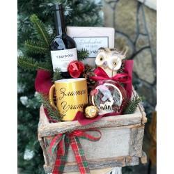 Коледен подаръчен комплект за учител