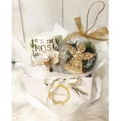 Подаръчен комплект златен ангел