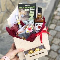Мъжки подаръчен комплект за Свети Валентин