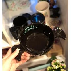 Черна керамична купа джойстик