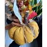 Есенна декорация ръчно изработена тиква