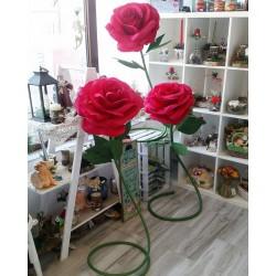 Огромни Величествени Рози от хартия