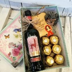 Кутия подарък за Свети Валентин