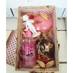 """Кутия подарък за 8ми март """"Роза"""""""