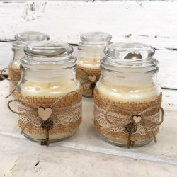 Ароматна свещ Vanilla love