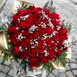 Букет от 100 рози